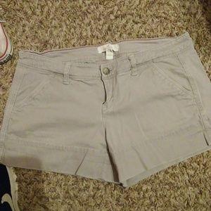 Grey Hollister shorts